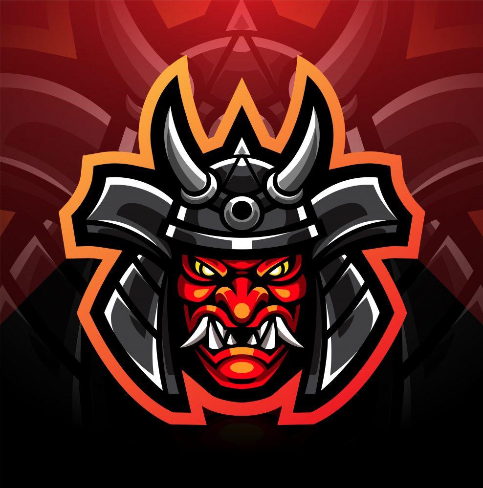 Ogre Warrior Mascot Logo
