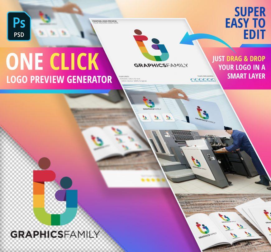 Printing Business Logo Preview Generator
