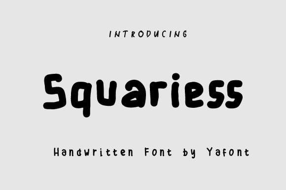 Squariess-Font Download