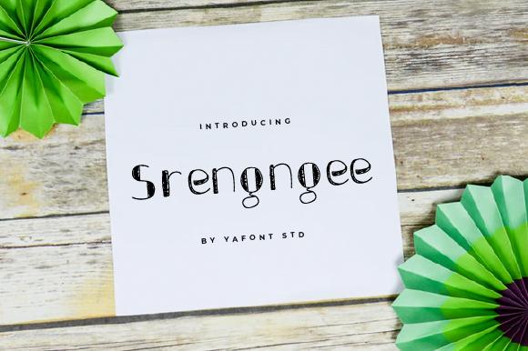 Srengngee-Font Download