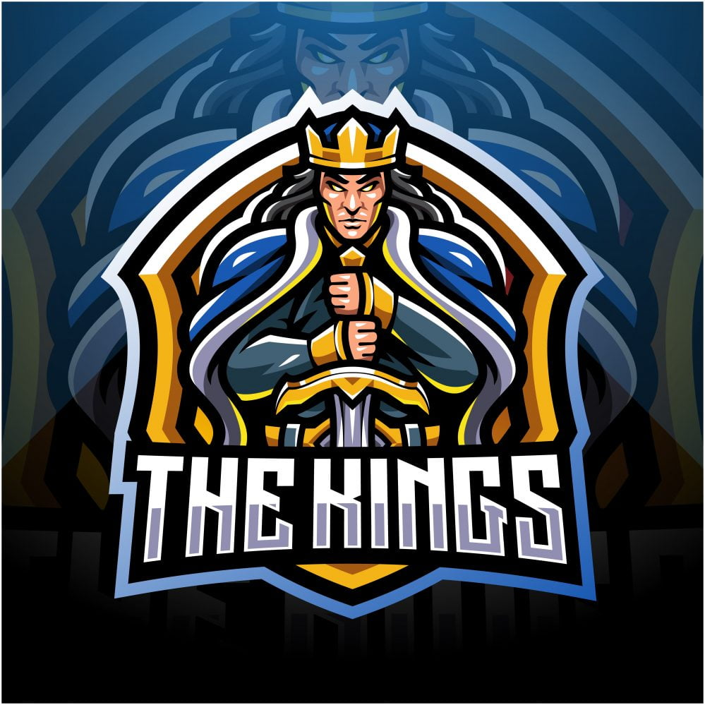 The Kings Mascot Logo