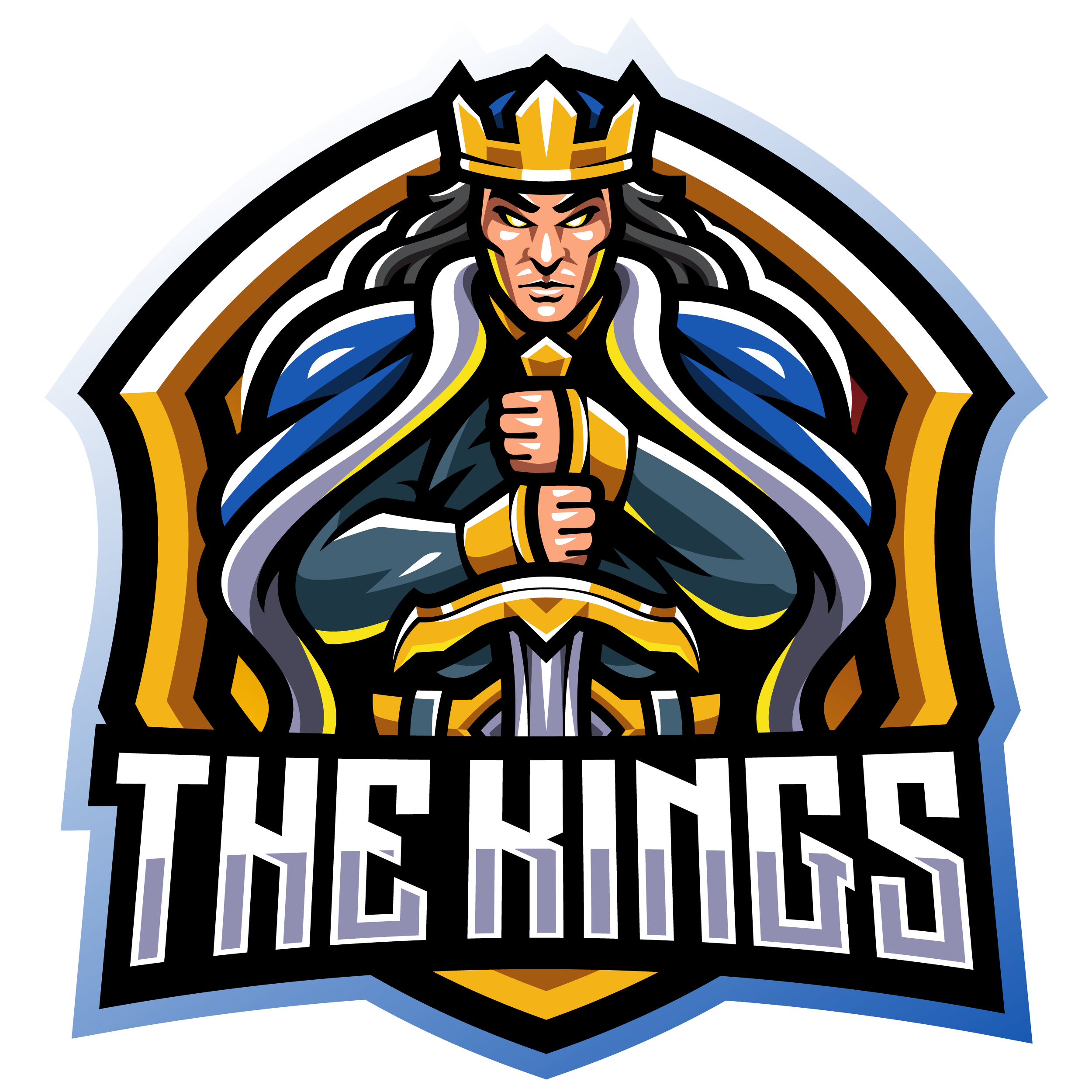 The-Kings-Mascot-Logo-PNG-Transparent