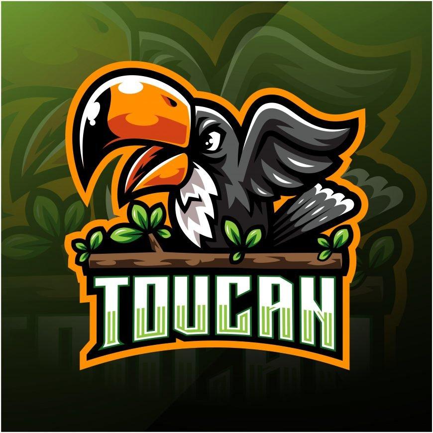 Toucan Mascot Logo