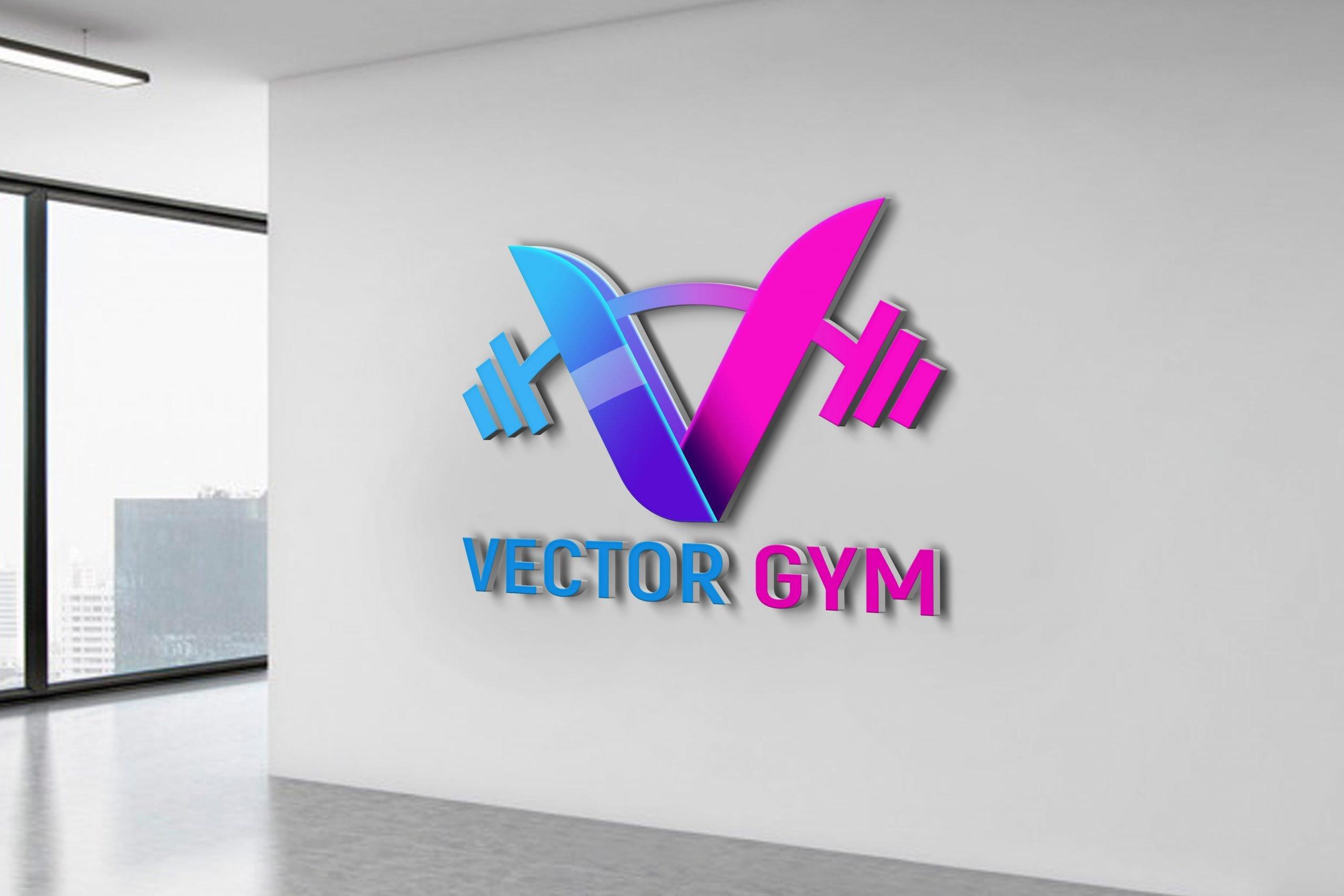 Vector Gym Logo Template Design