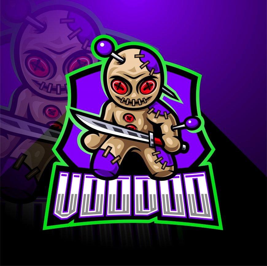 VooDoo Mascot Logo