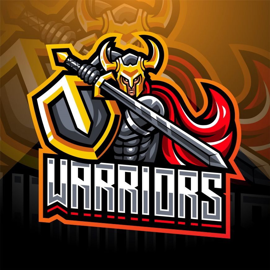 Warriors Clan Mascot Logo