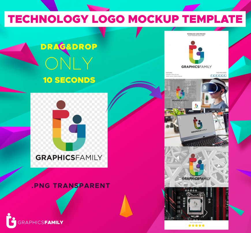 Technology-Logo-MockupTemplate