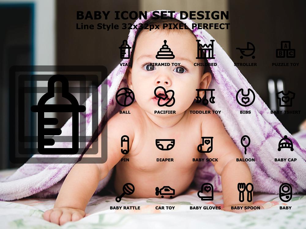 Free Babies Icon Set