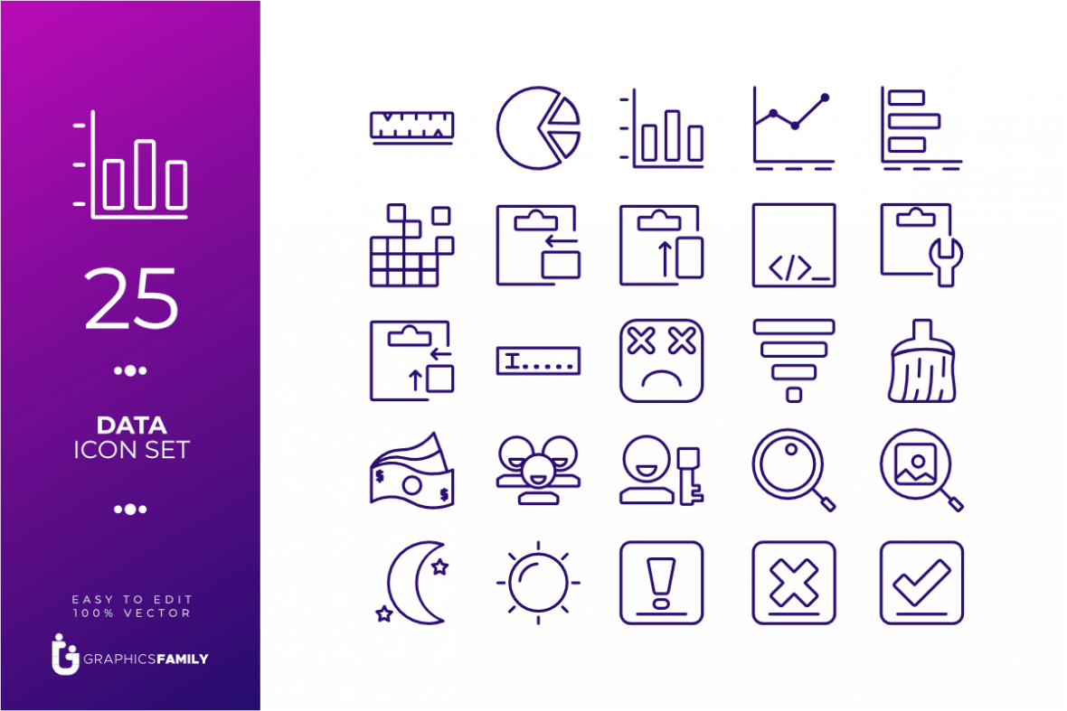 Free Data Icon Pack