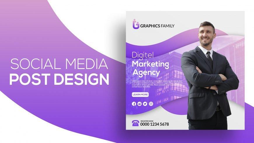 Digital marketing social media post Instagram banner