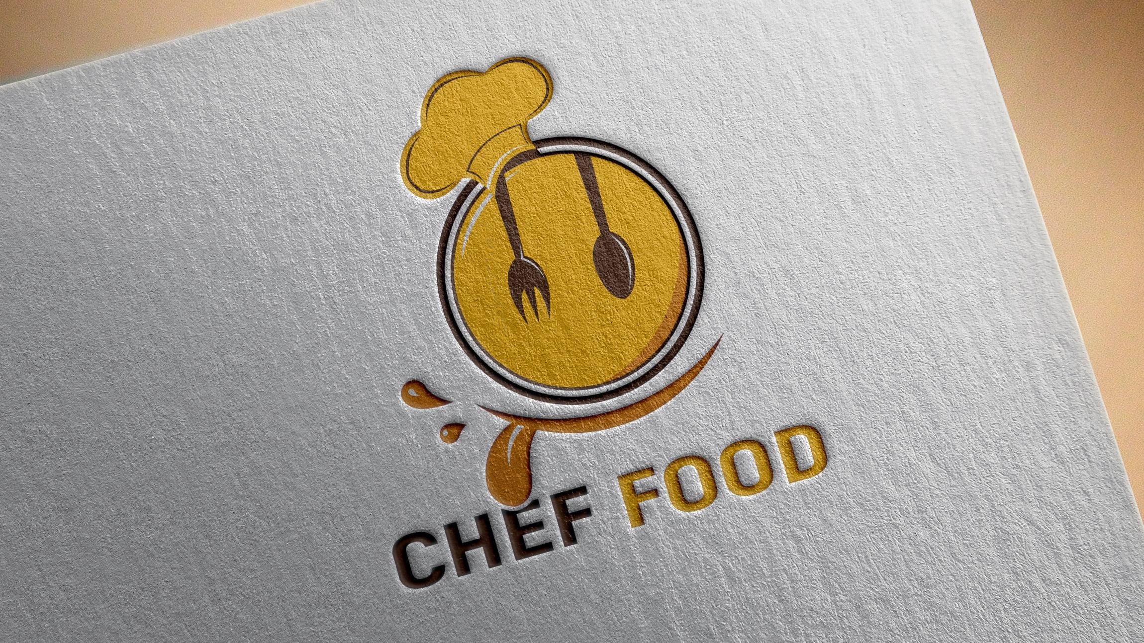 Download Editable Photoshop Food Logo Design