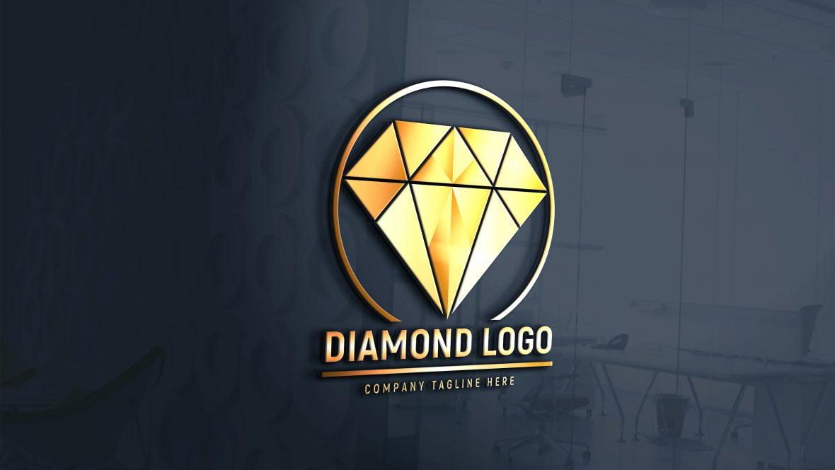 Editable Diamond Logo Design