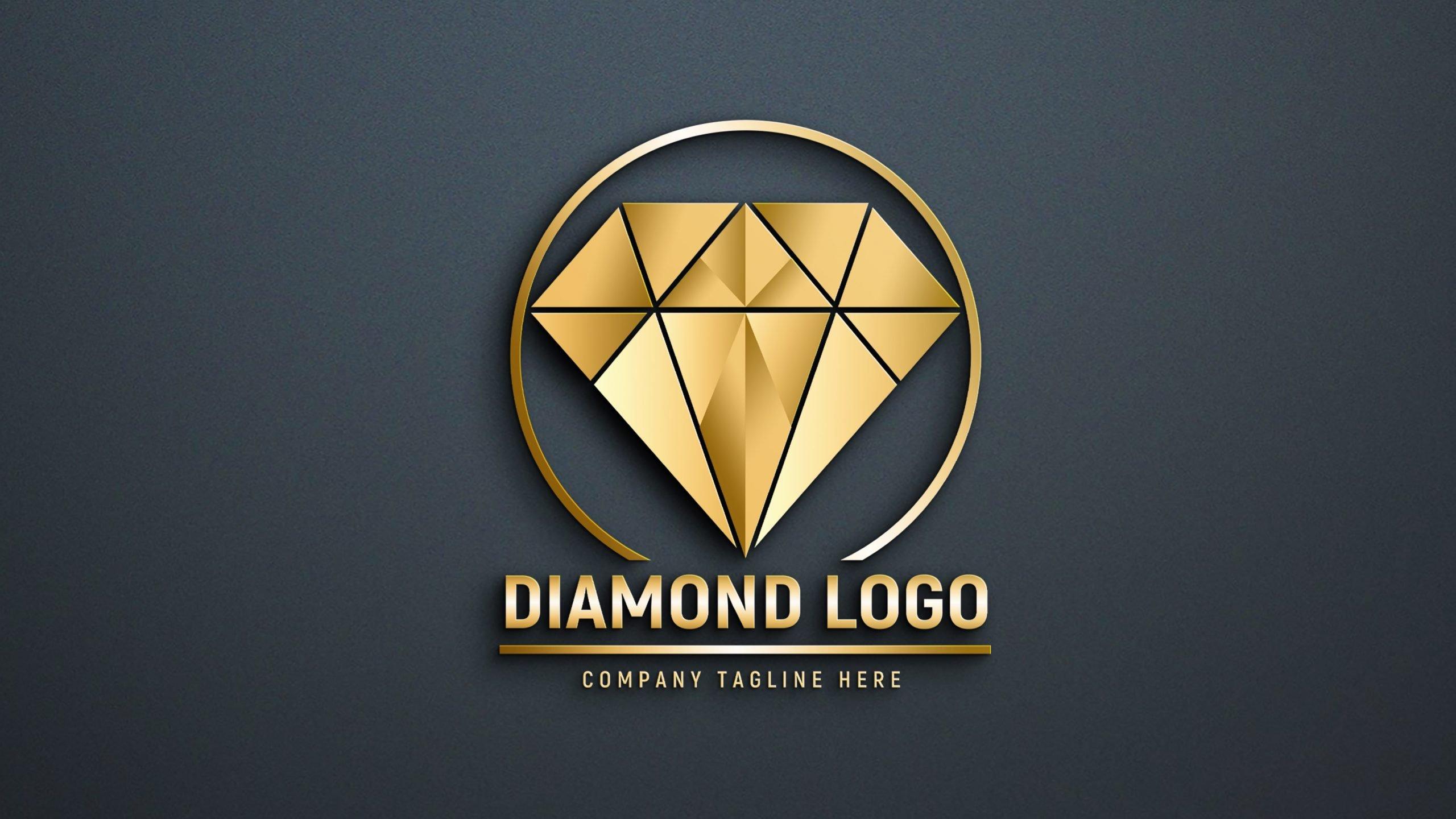 Editable Diamond Logo Design Download