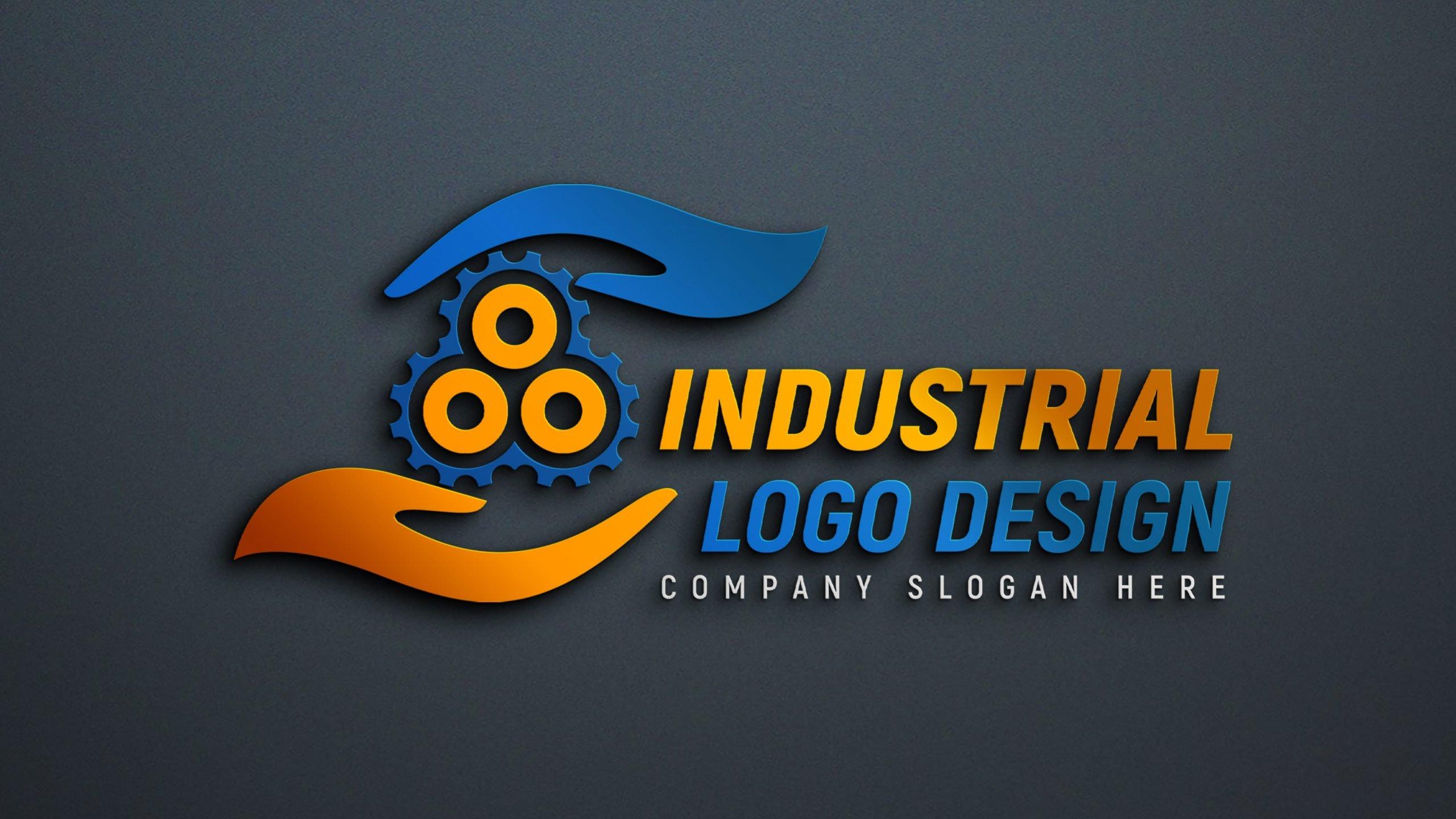 Editable Industrial Logo Design Download