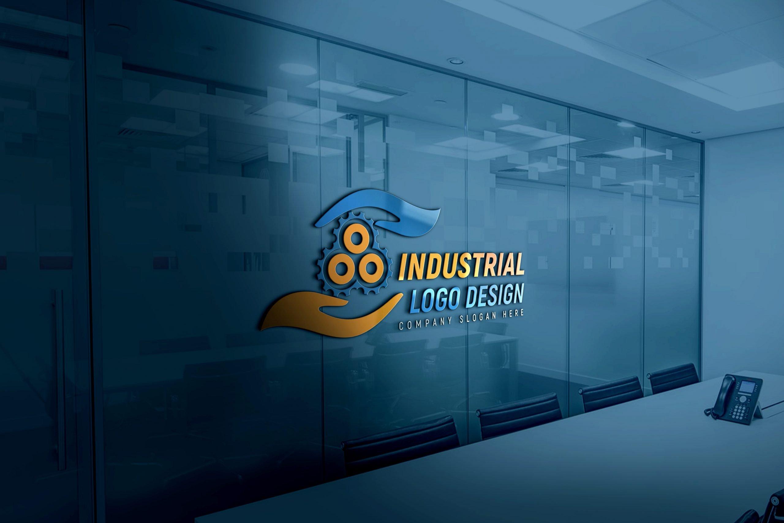 Editable Industrial Logo Design