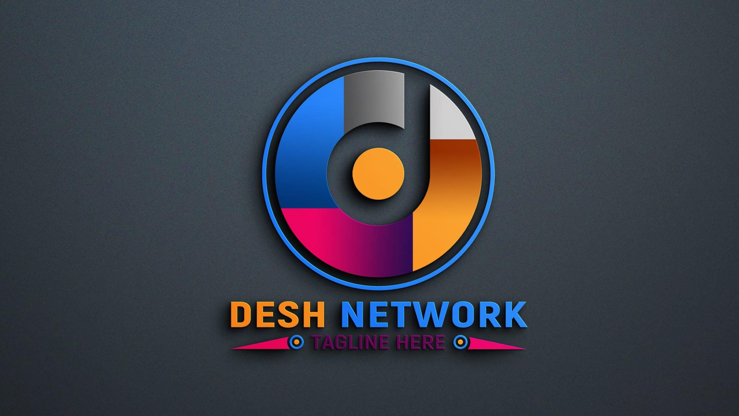 Editable Network Logo Design Download