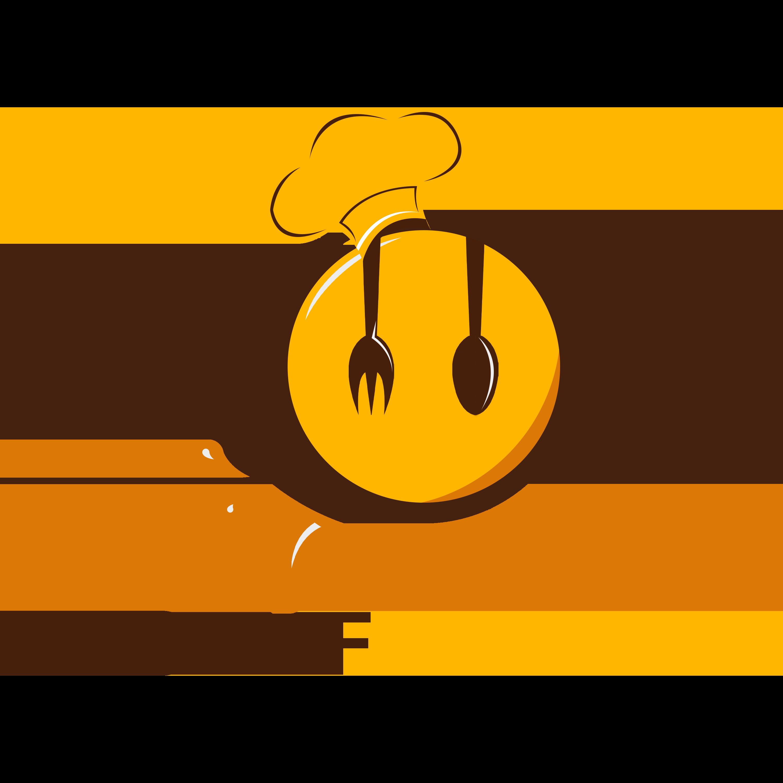 Editable Photoshop Food Logo Design PNG Transparent