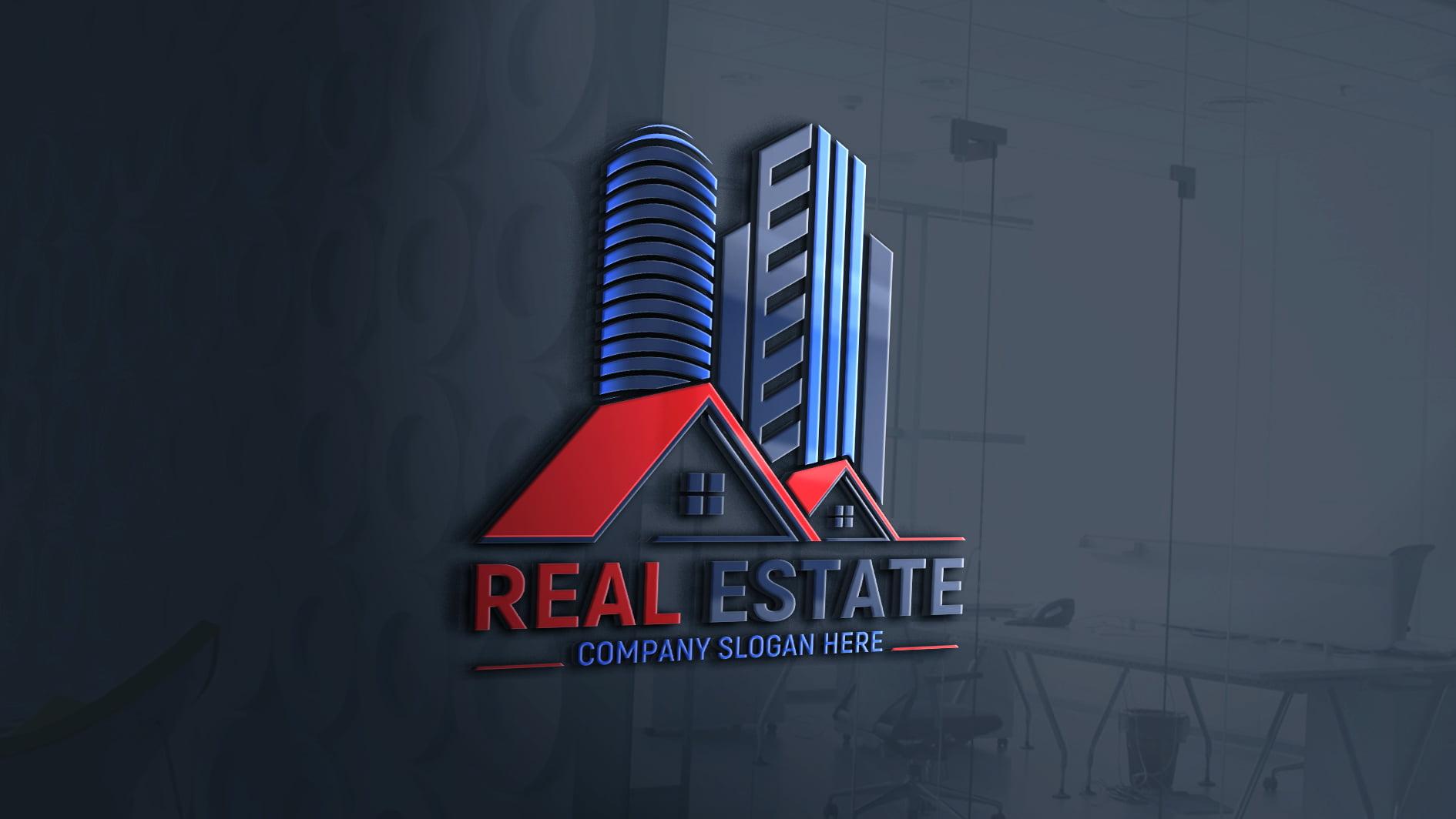 Editable Real Estate Logo Design Download
