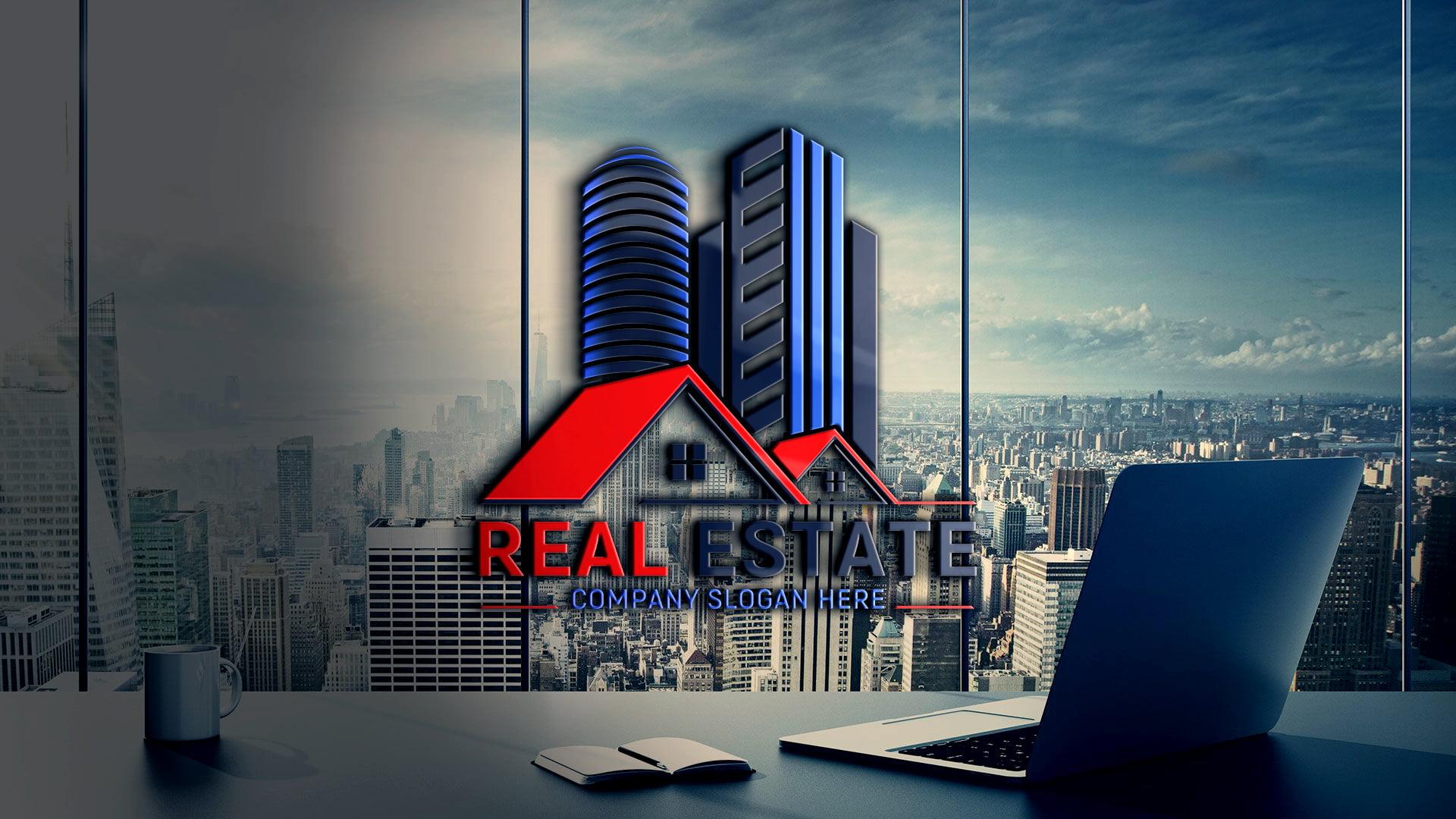 Editable Real Estate Logo Design Free Download