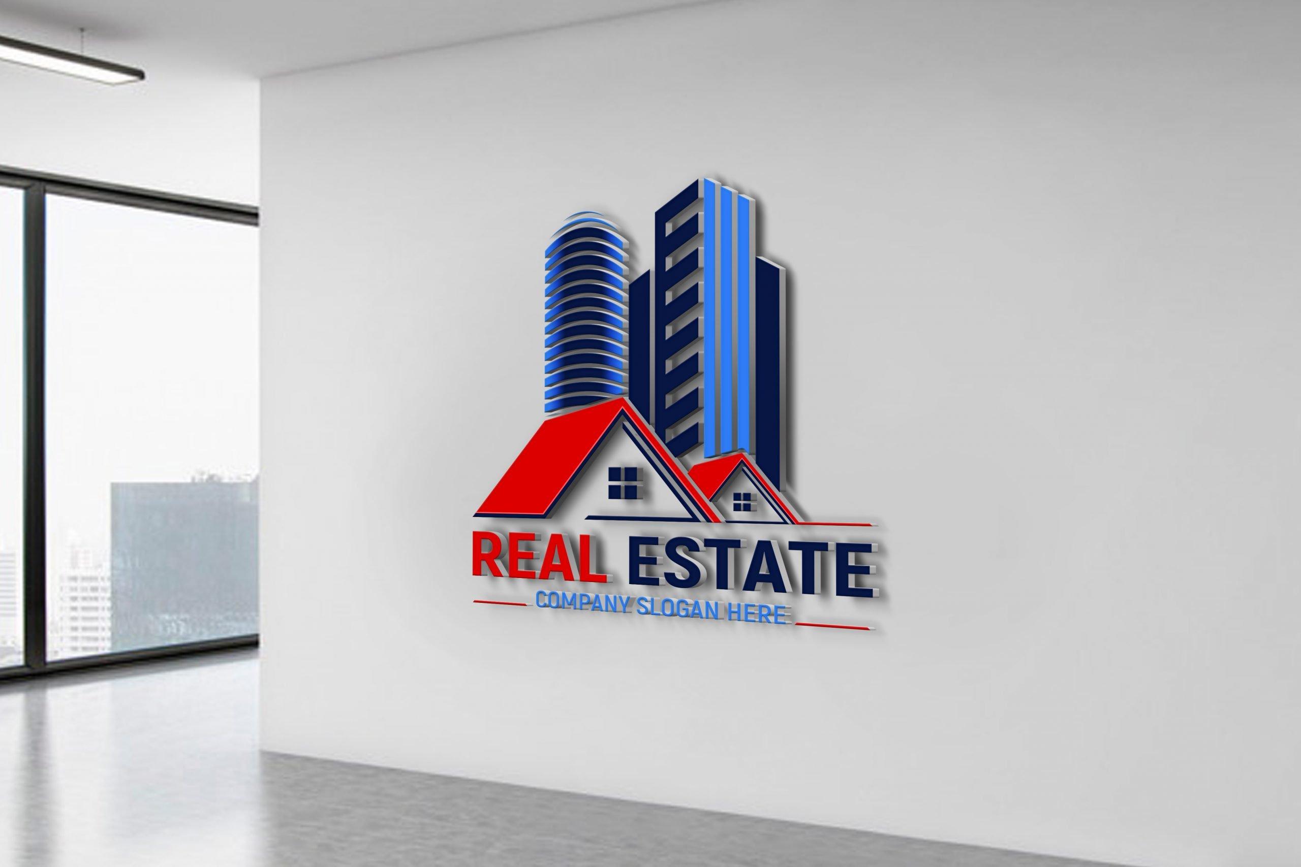Editable Real Estate Logo Design Template