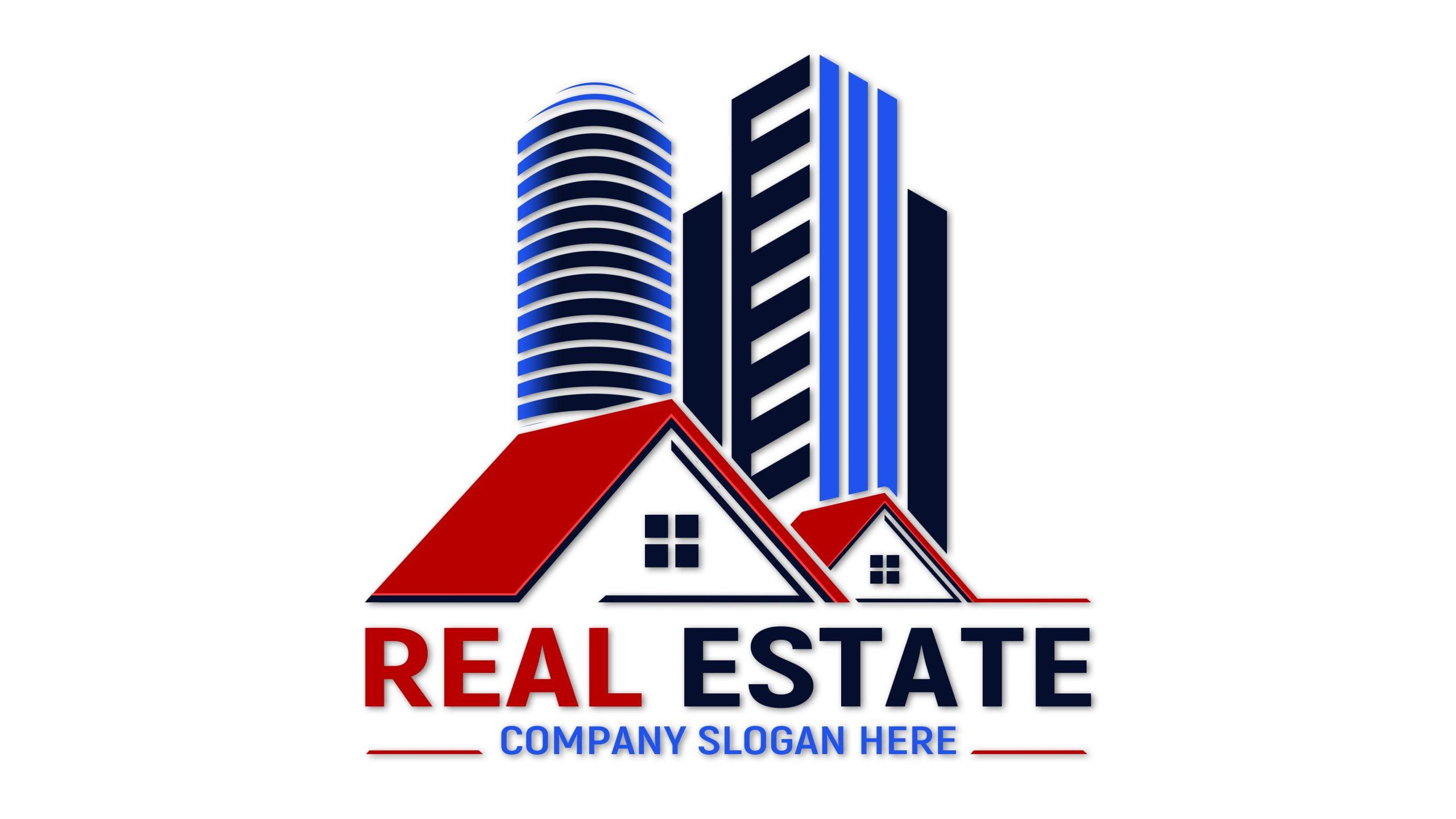 Editable Real Estate Logo Design