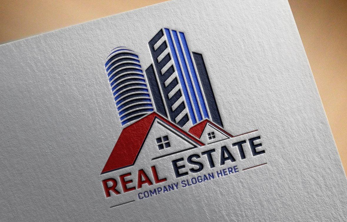 Editable Real Estate Logo Template