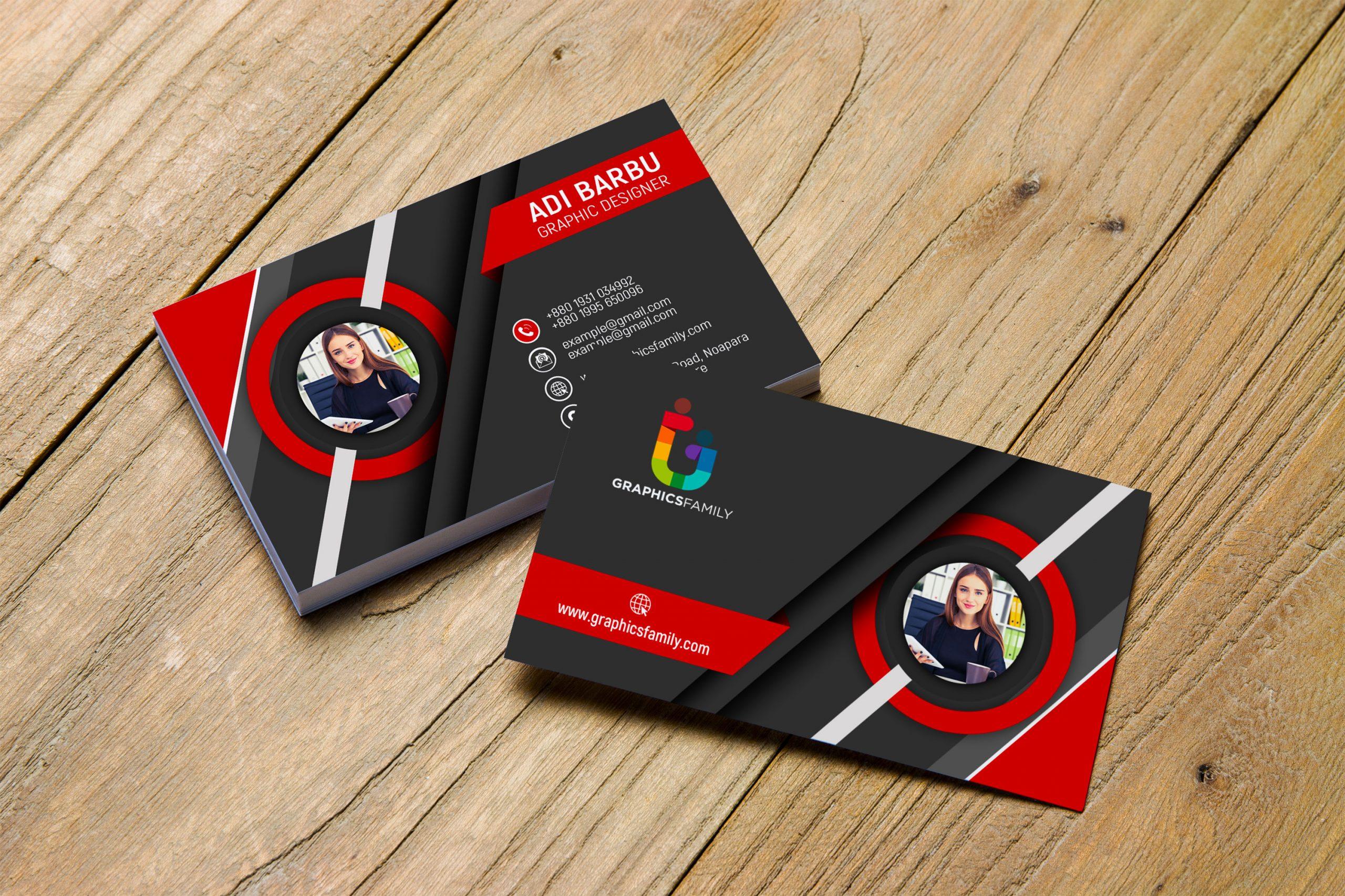 Free 3D Visiting Card Design Download