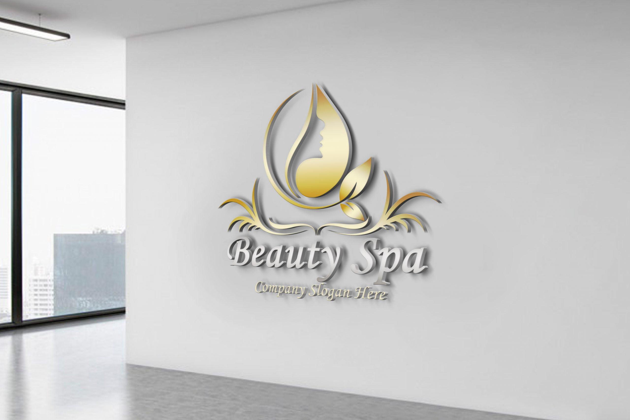 Free Beauty&Spa Logo Template Download