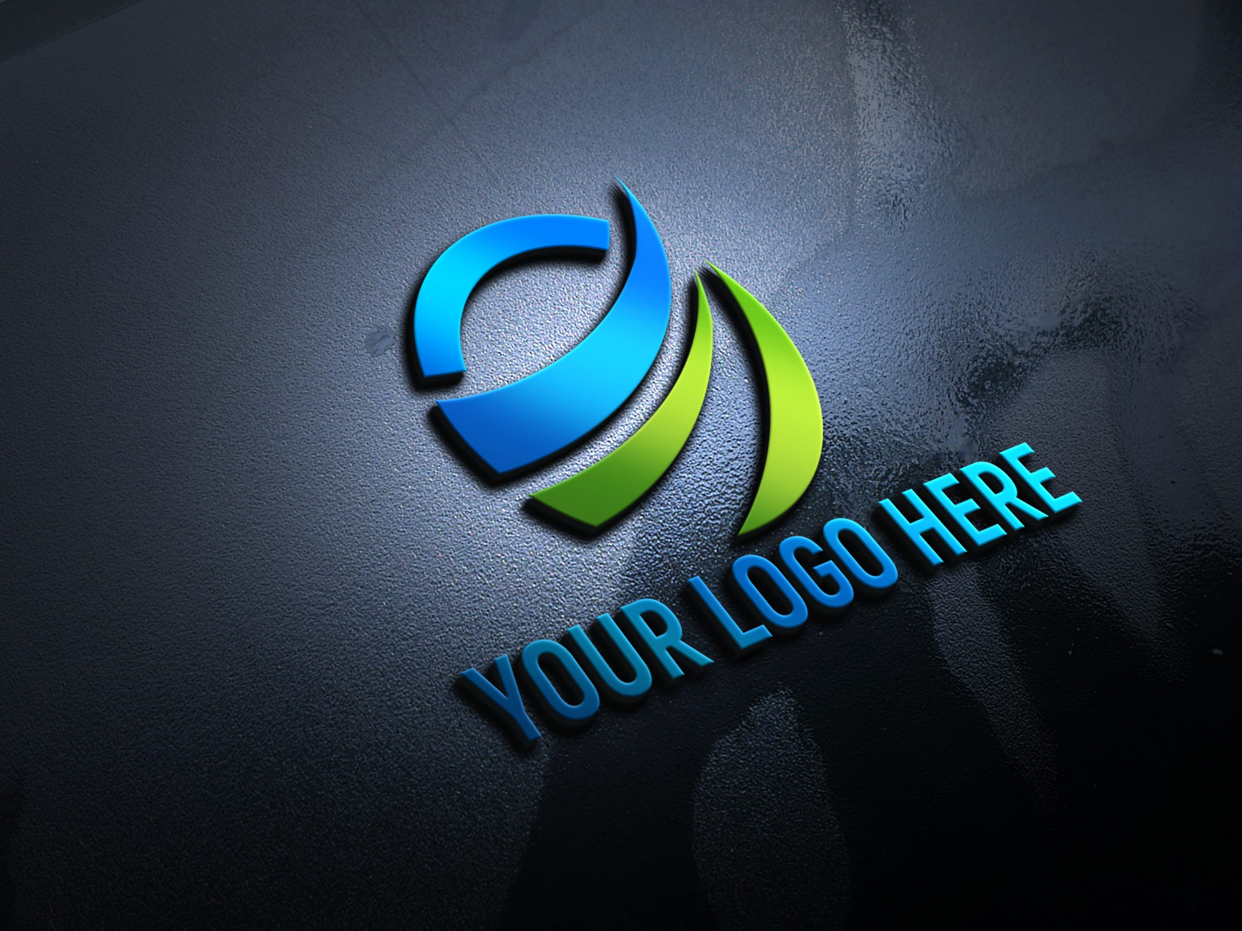 Free-Creative-3D-Logo-Mockup