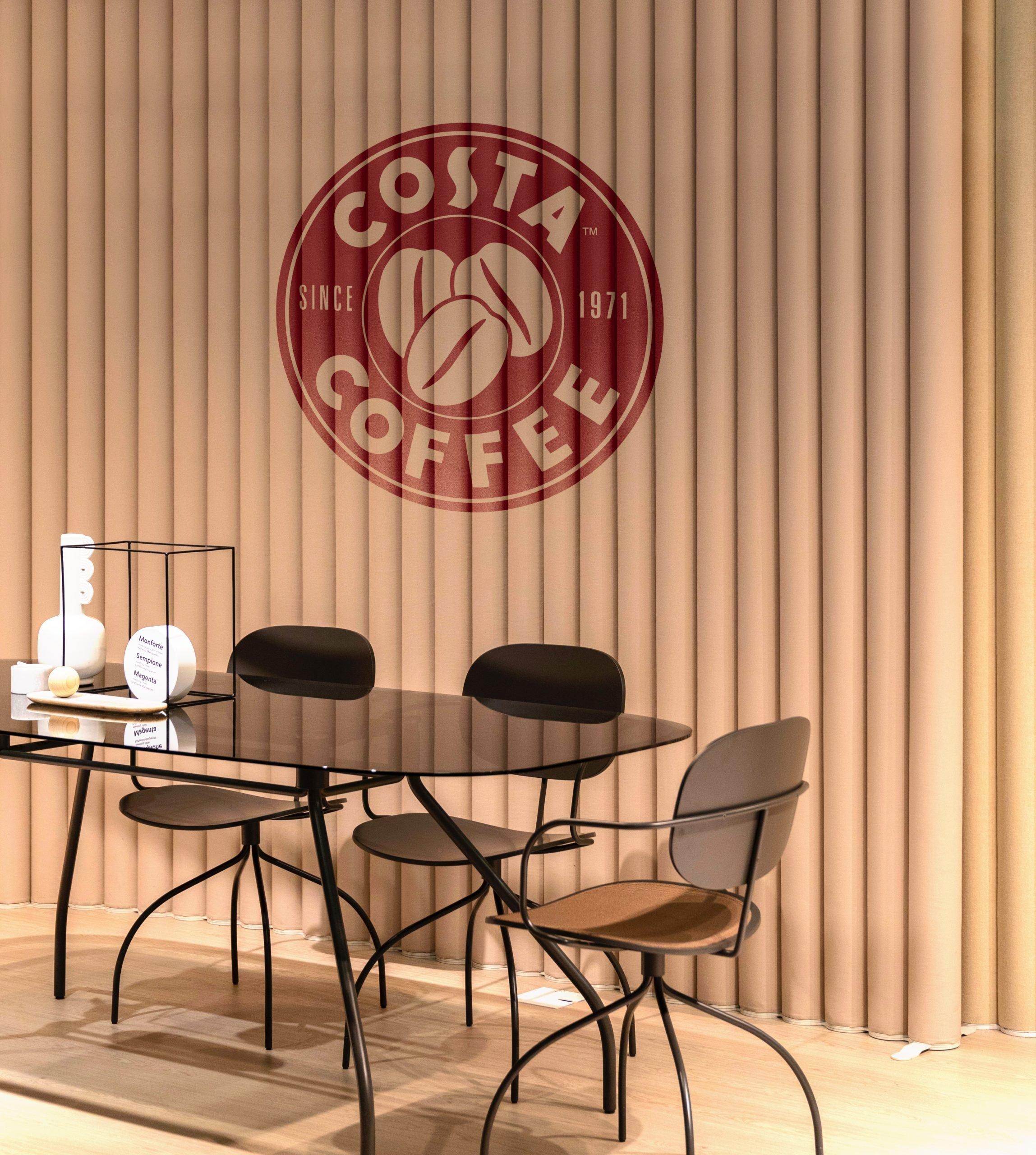 Free Download Coffee Table Logo Mockup
