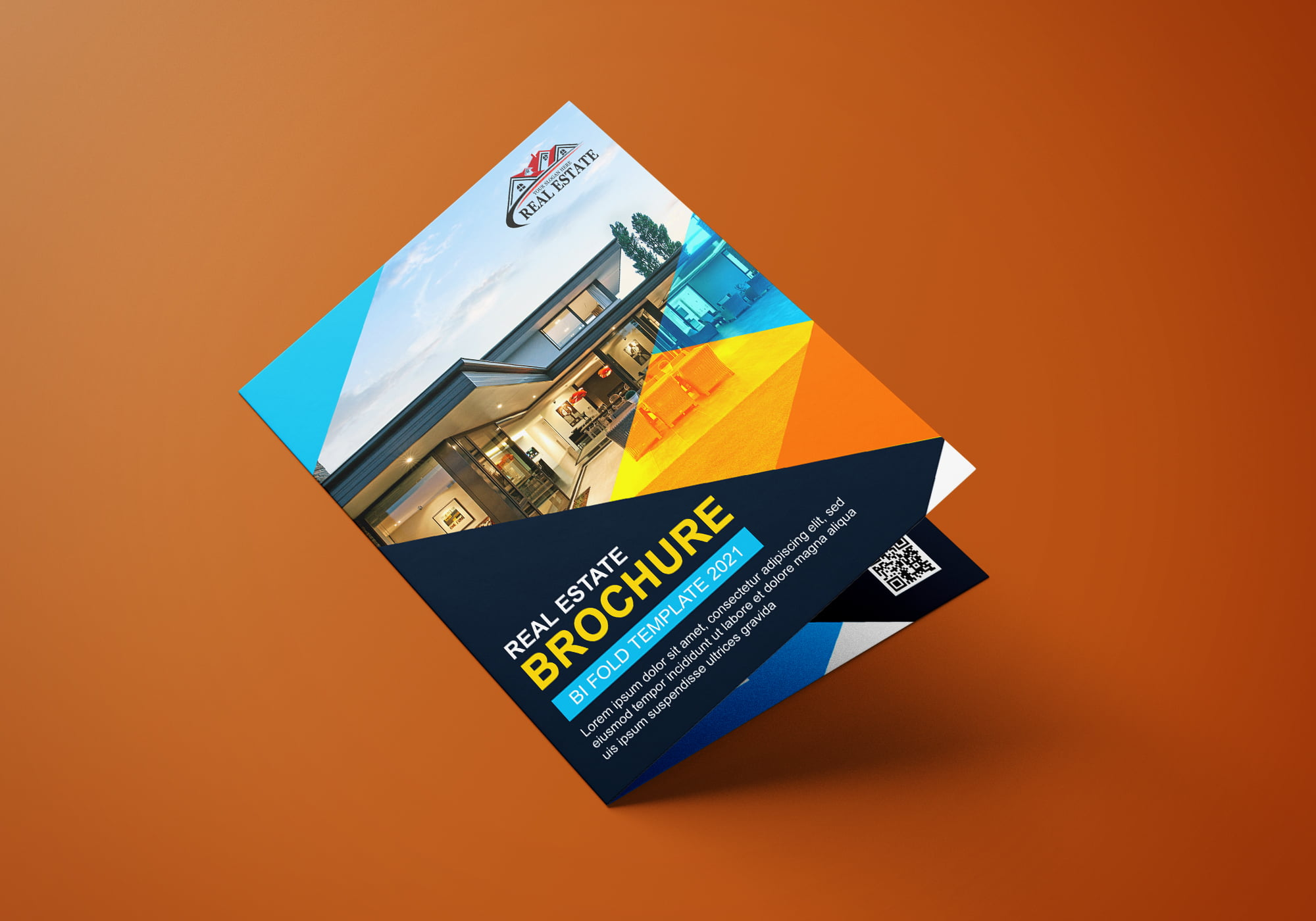 Download Editable Bi Fold Brochure Design for Photoshop