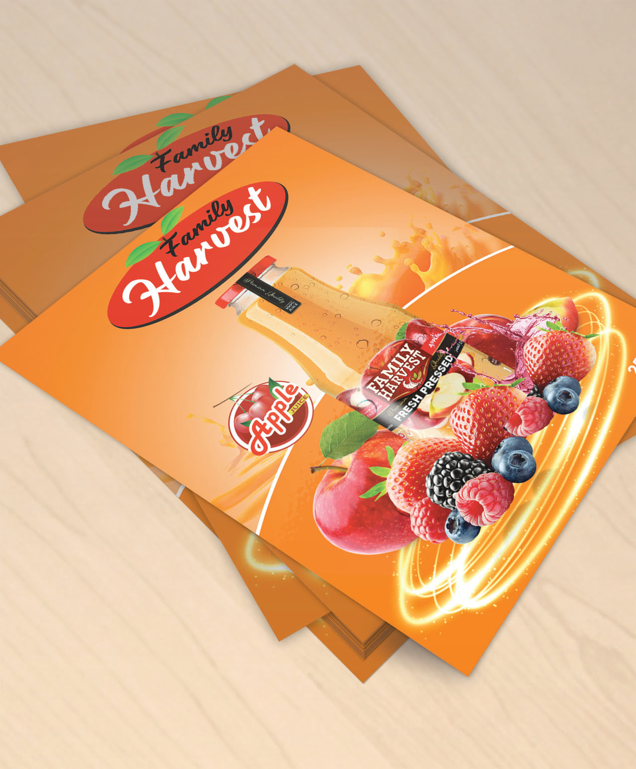 Free Editable Bottle Juice Template Design Download