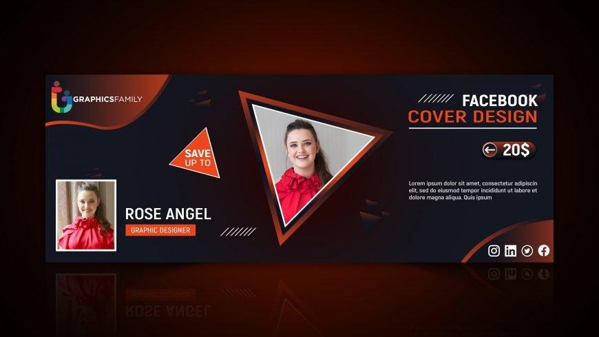 Free Editable Facebook Cover Design for Adobe Photoshop