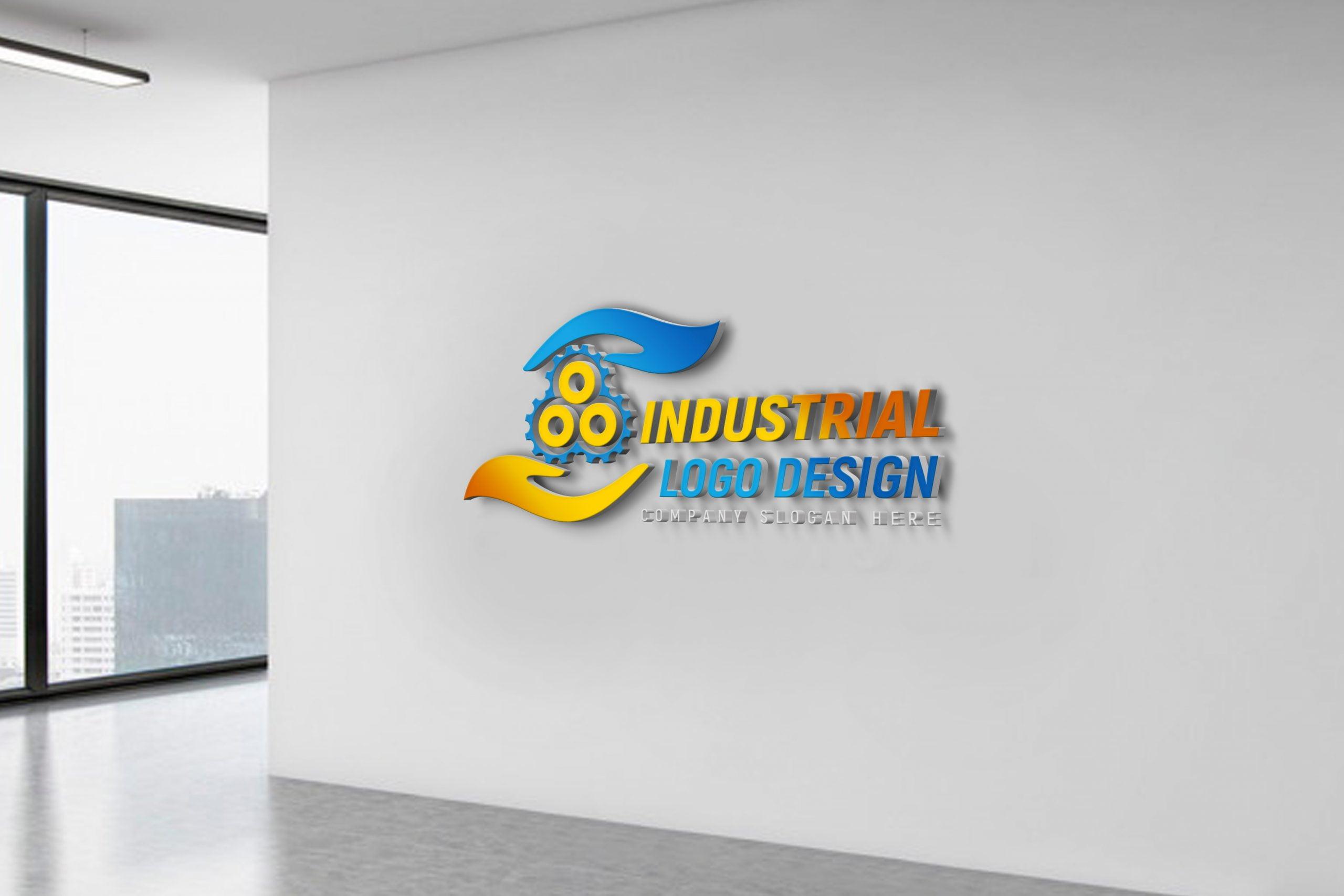 Free Editable Industrial Logo Design