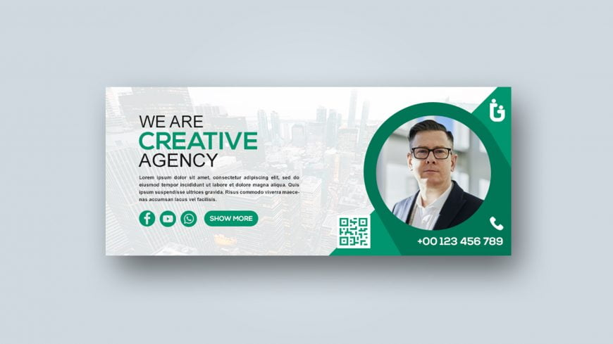 Free Editable Photoshop Banner Template