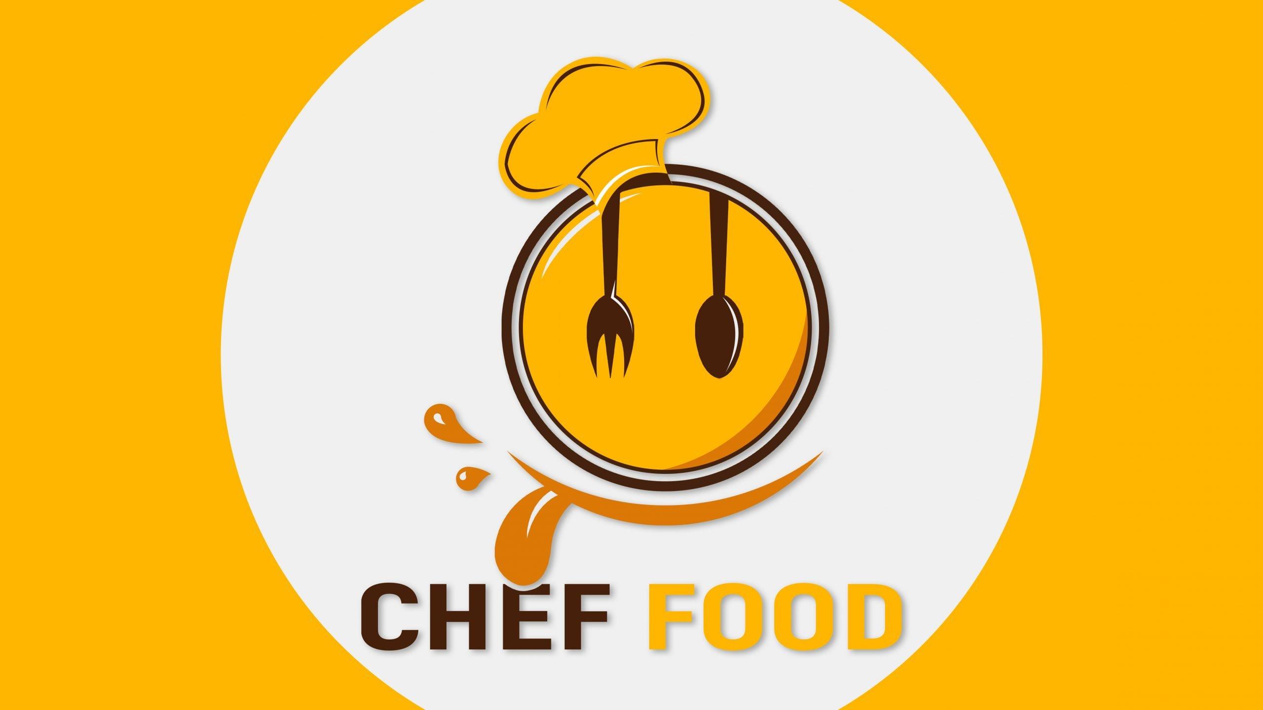 Free Editable Photoshop Food Logo Design Template