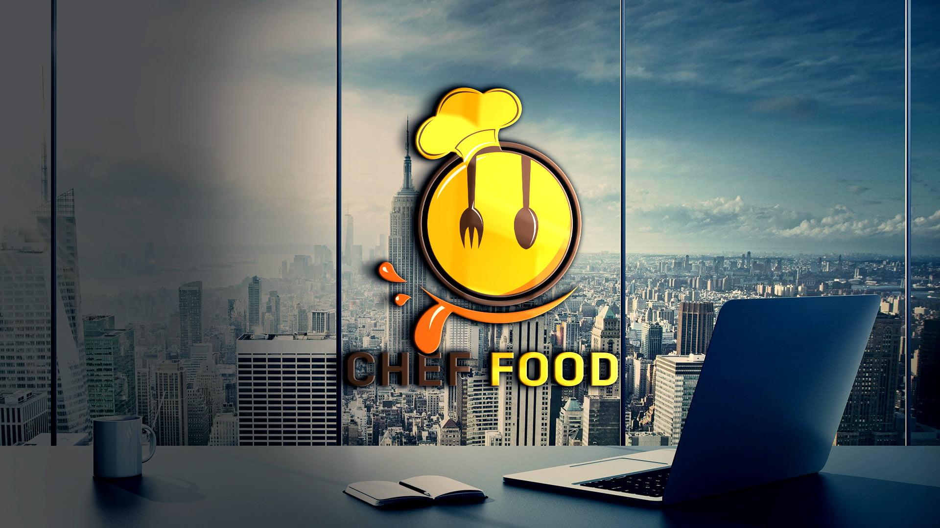 Free Editable Photoshop Food Logo Design