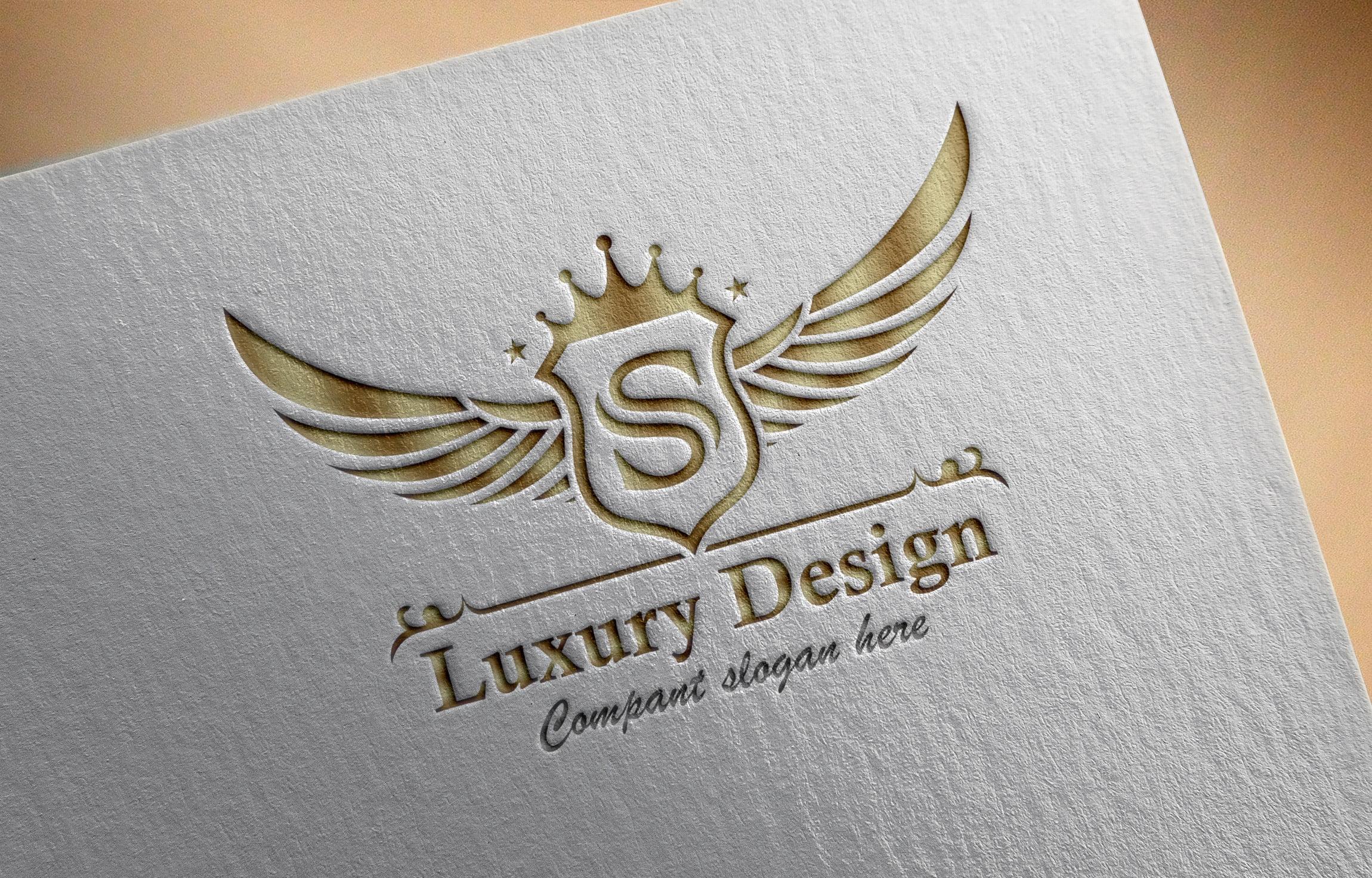 Free Luxurious Royal Logo Design Download