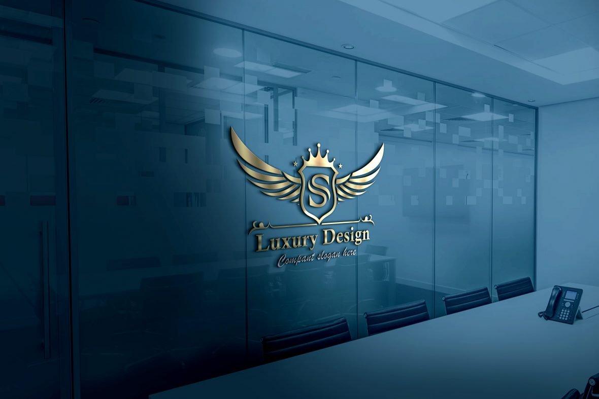 Free Luxurious Royal Logo Template Download