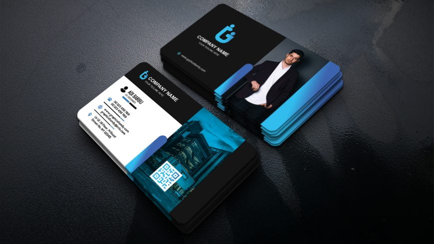 General Manager Visiting Card Template