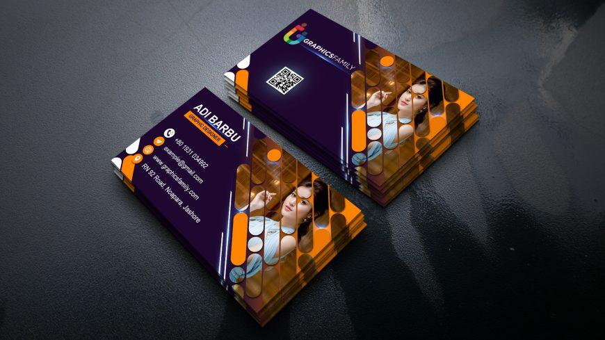 Modern Editable Visiting Card Design in Photoshop