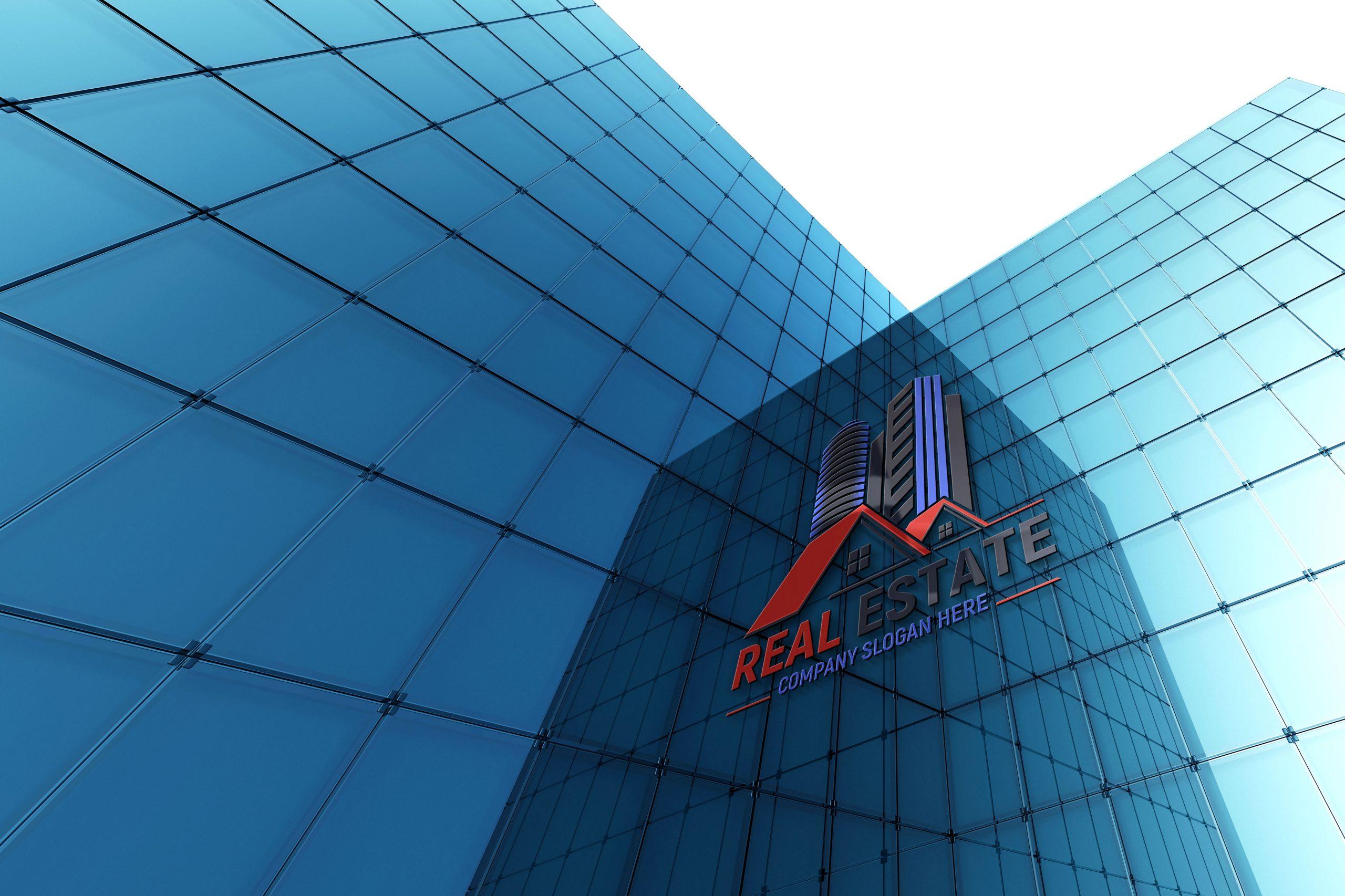 Photoshop Editable Real Estate Logo Design