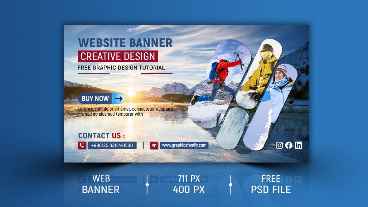 Professional Editable Website Banner Design