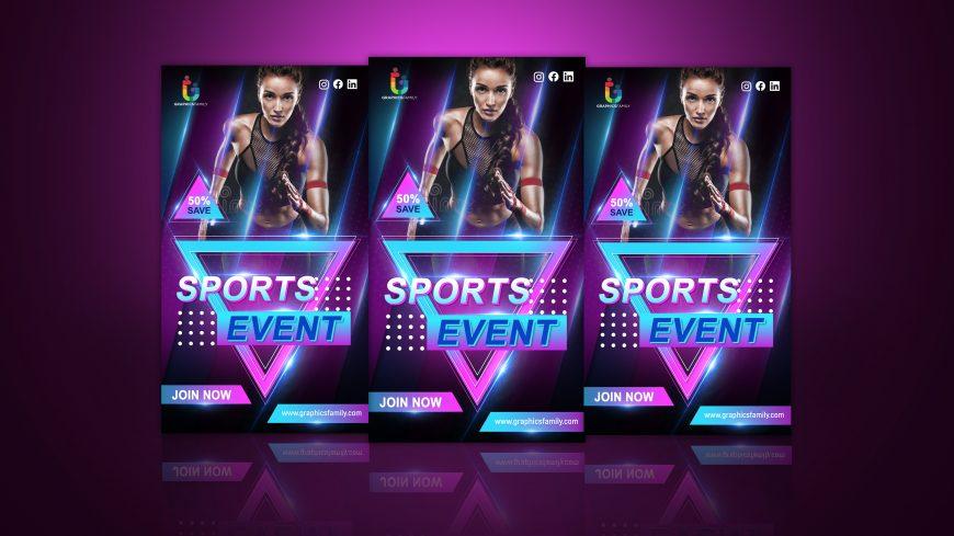 Sport Event Editable Instagram Story Design