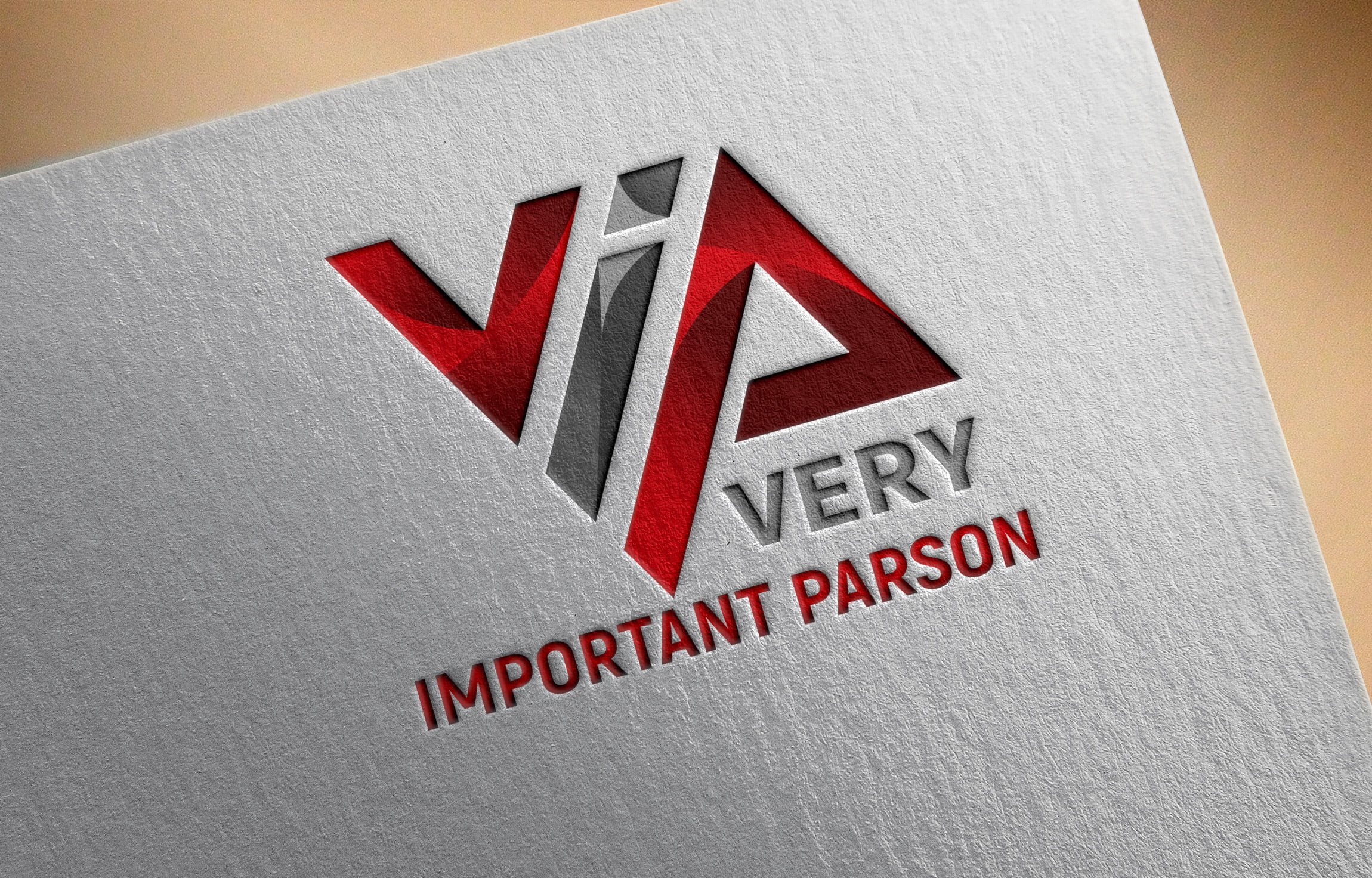 Vip Logo Design by GraphicsFamily