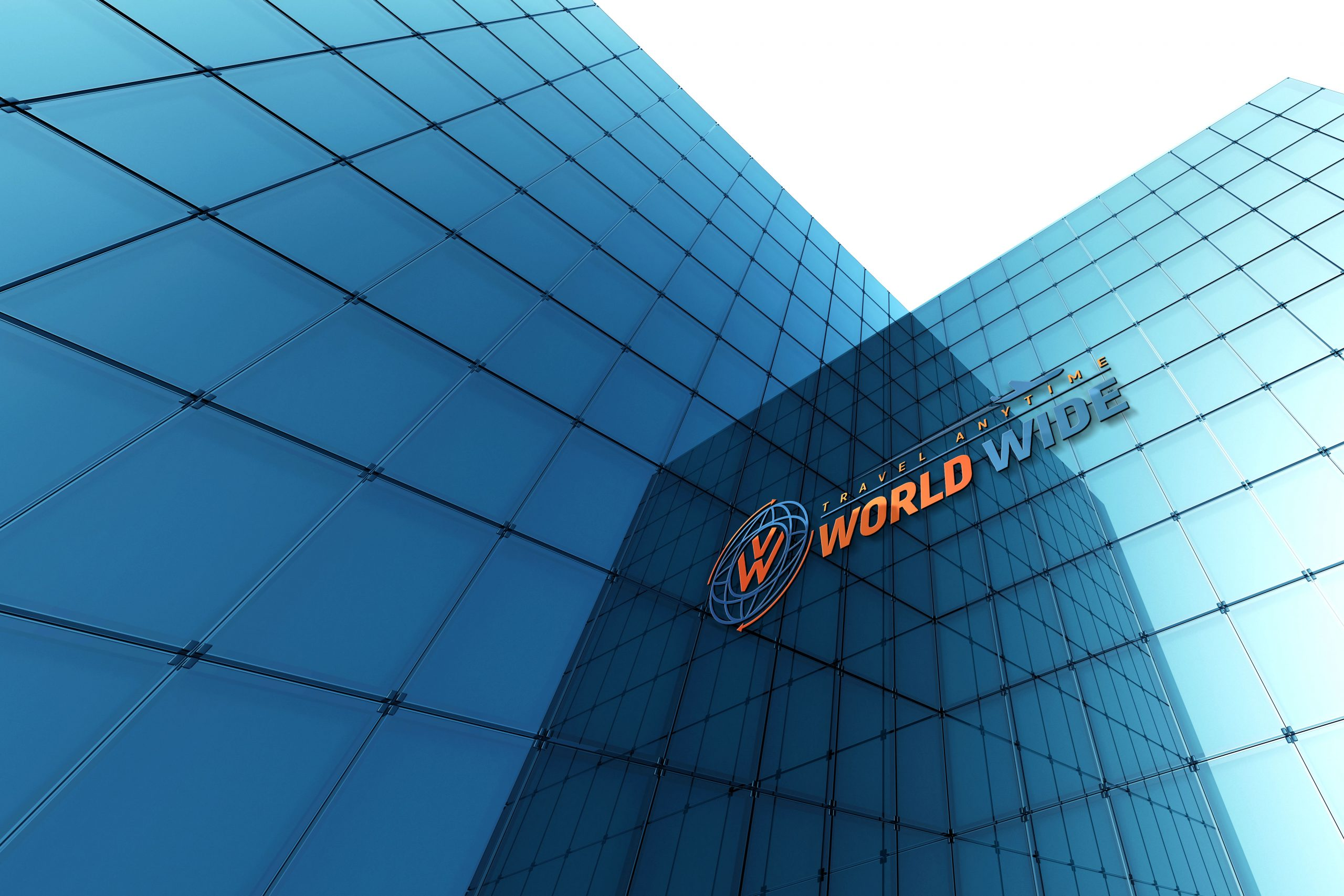 World Wide Travel Company Logo Design by GraphicsFamily
