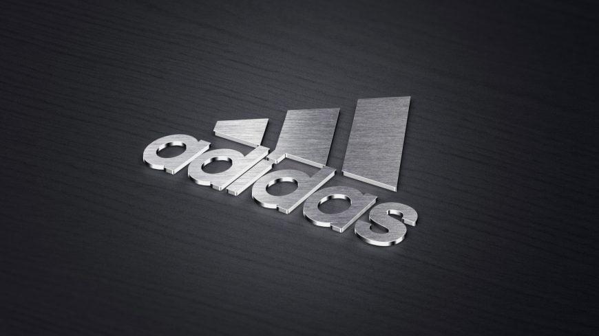 3D Metallic logo Mockup