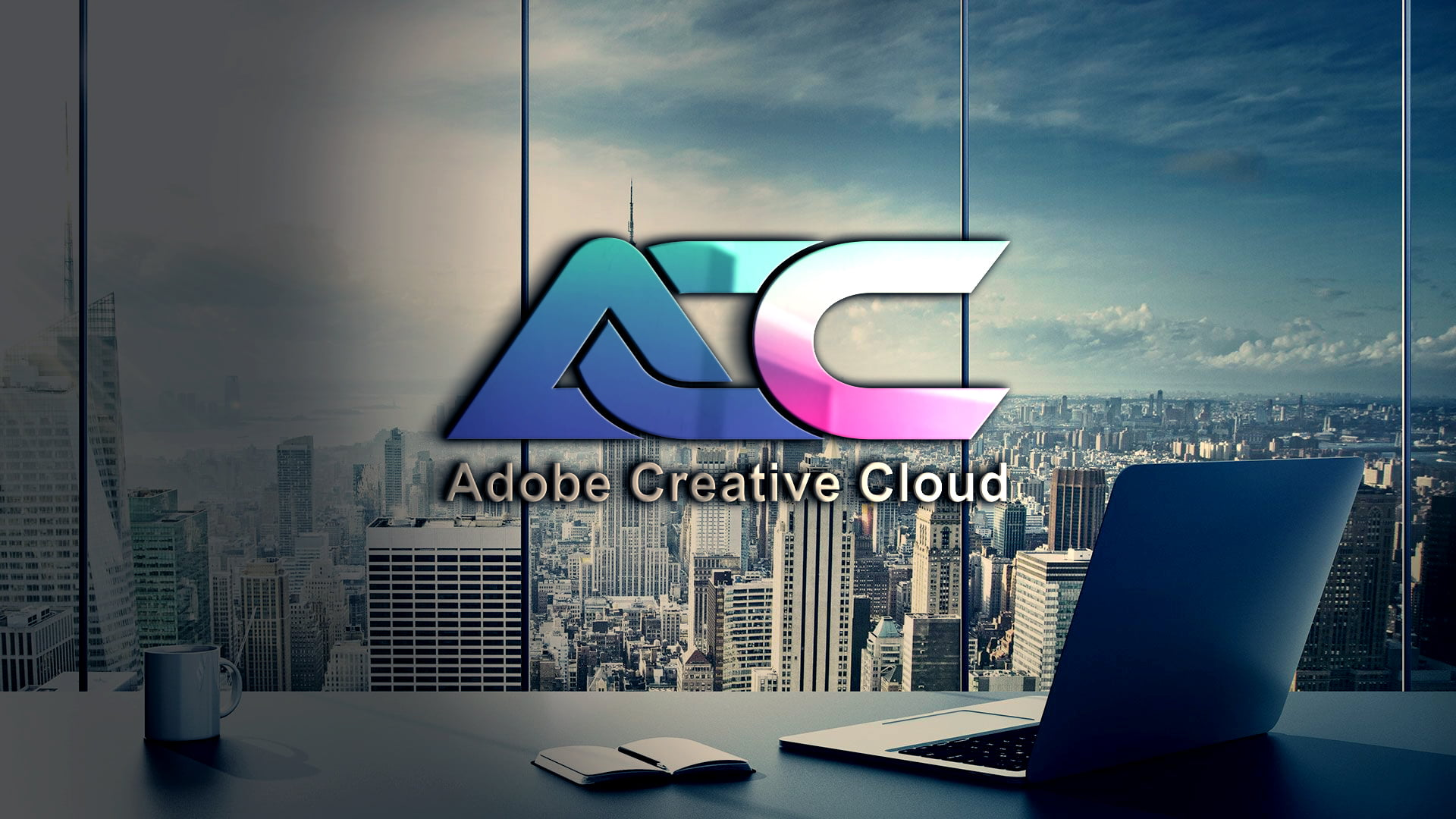 ACC Letters Logo Design Template