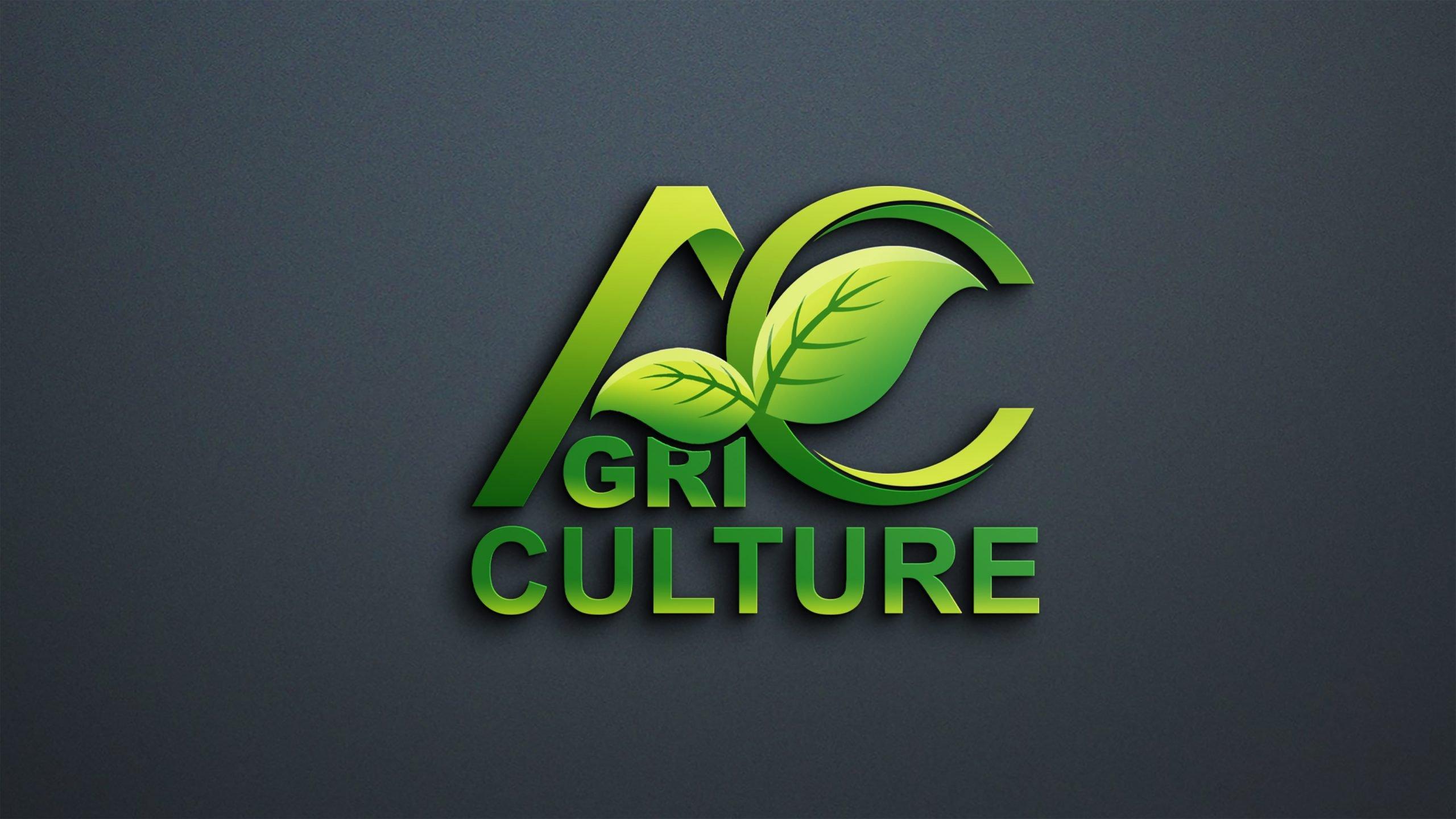 Agriculture Logo Design Free PSD Download