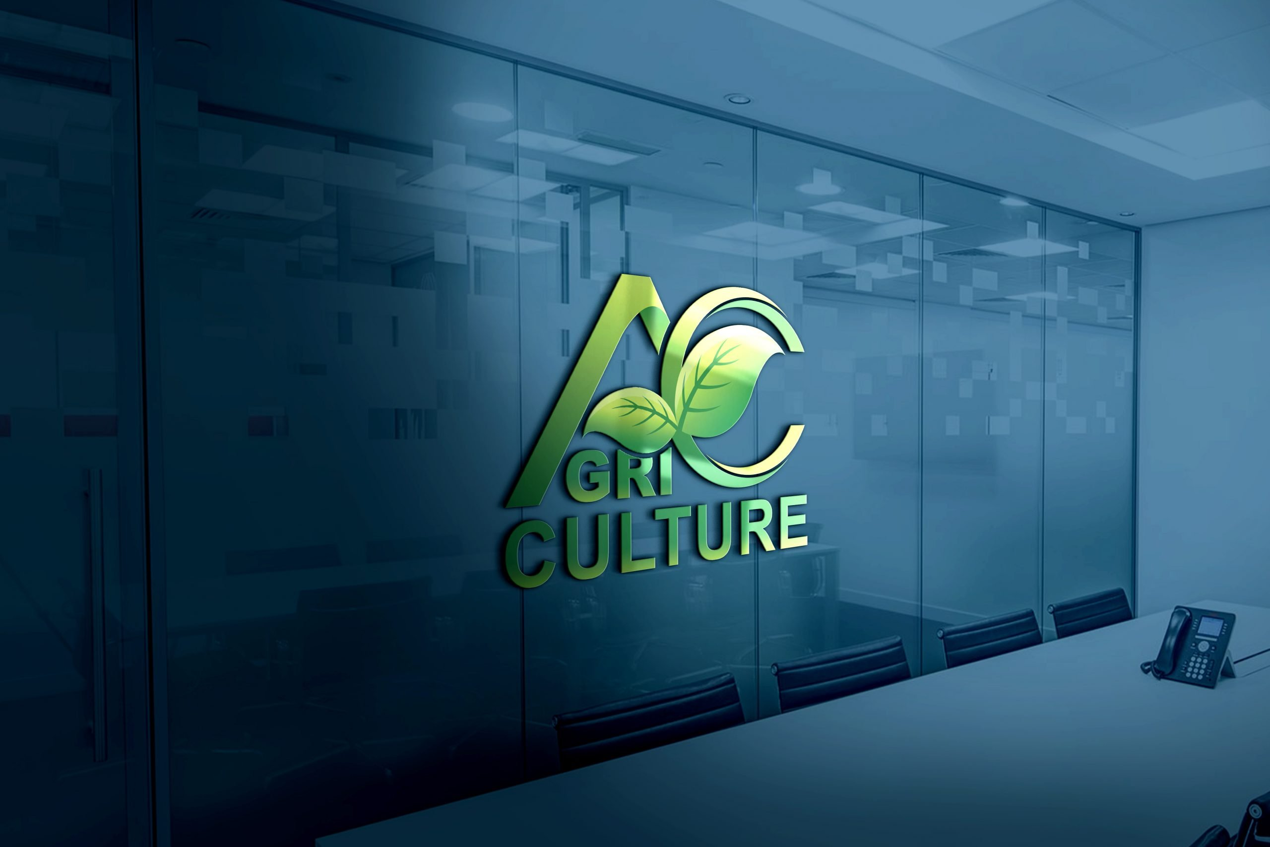 Agriculture Logo Design Template Download